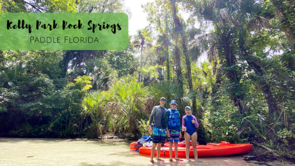 Kayaking Rock Springs Kelly Park, the beautiful Emerald Cut of Florida.