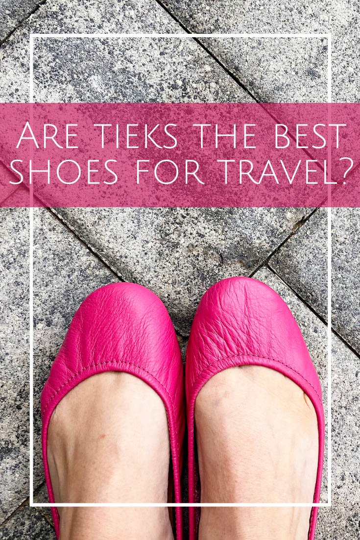 Hot Pink Tieks for Travel